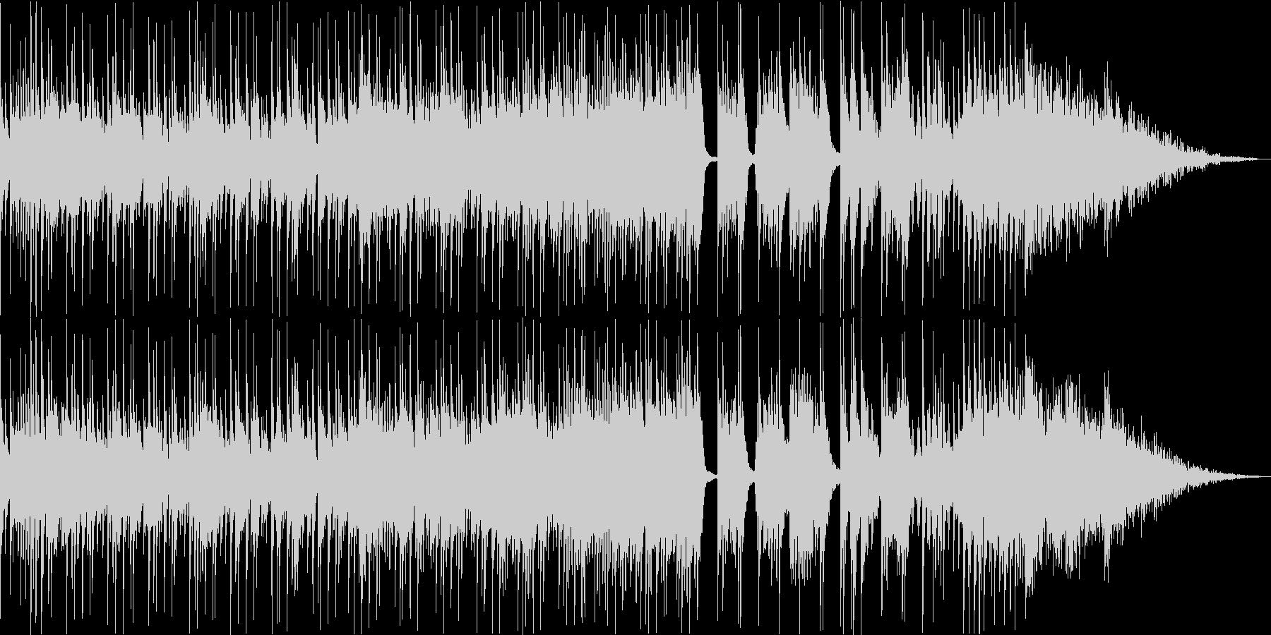 三味線+尺八+鼓 激しい和風ギターロックの未再生の波形