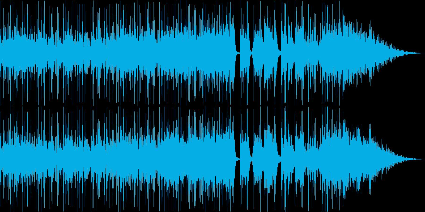 三味線+尺八+鼓 激しい和風ギターロックの再生済みの波形