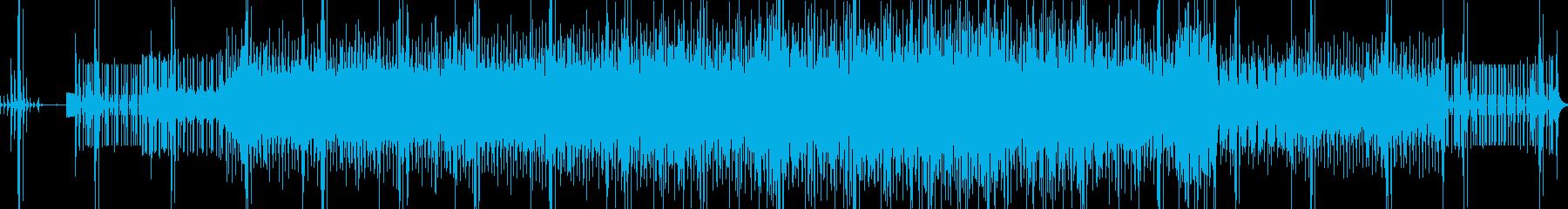フィルターされたサウンド。の再生済みの波形