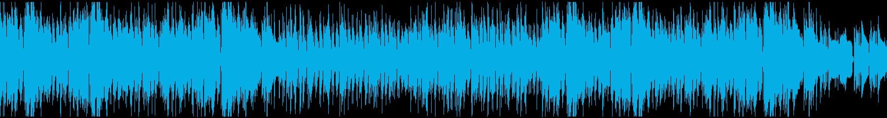 トランペットが奏でる夏の海っぽいボサノバの再生済みの波形