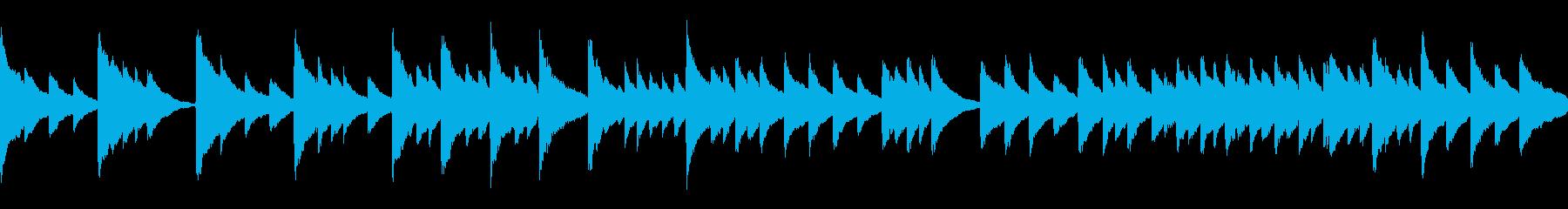 静か穏やか子守唄【ループ】の再生済みの波形