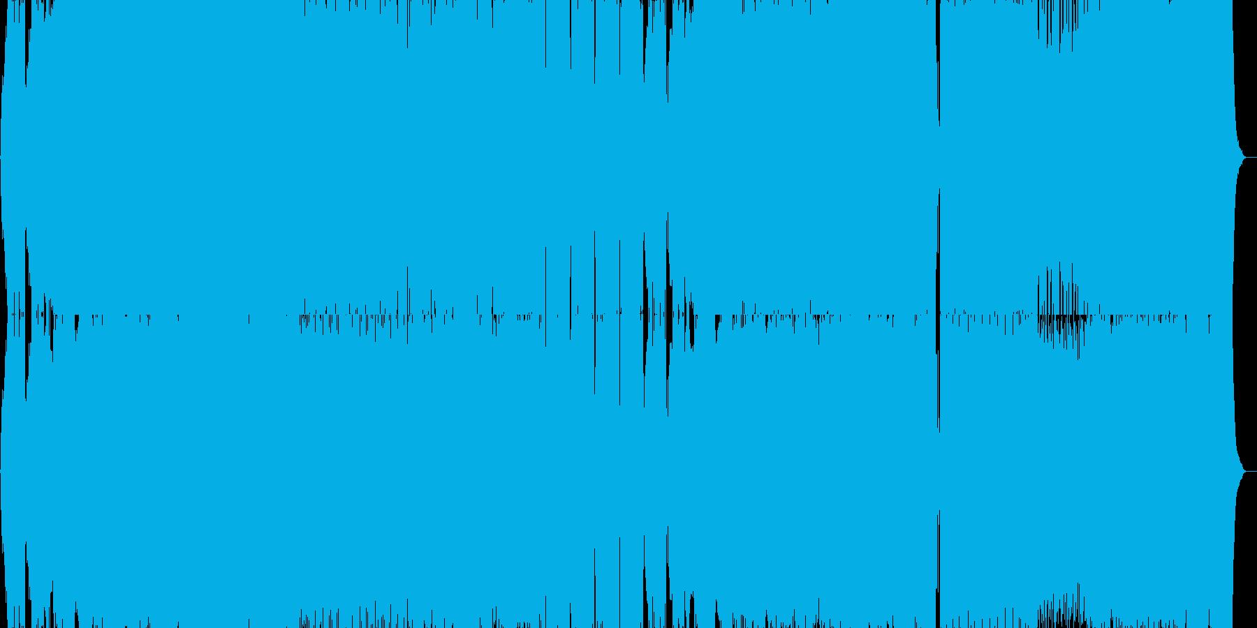 壮大で切ない感じのエレクトロの再生済みの波形