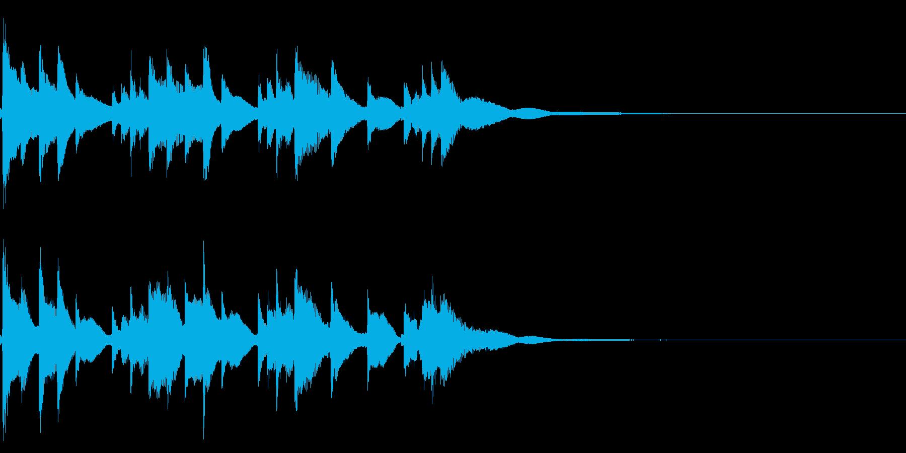 琴☆アイキャッチ4の再生済みの波形