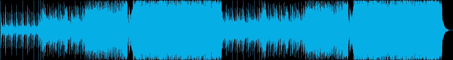 夏っぽくて可愛いFuture bassの再生済みの波形