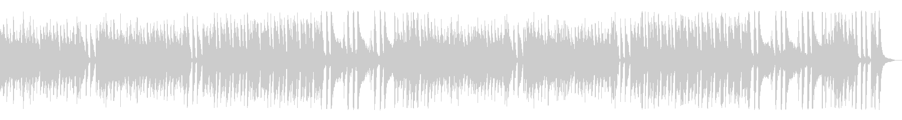 爽やか可愛いクッキングBGMジャズの未再生の波形