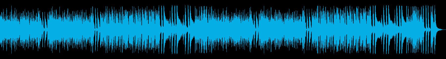 爽やか可愛いクッキングBGMジャズの再生済みの波形