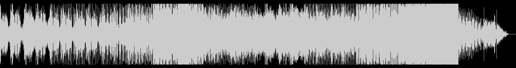 激しめのトランステクノミュージックですの未再生の波形