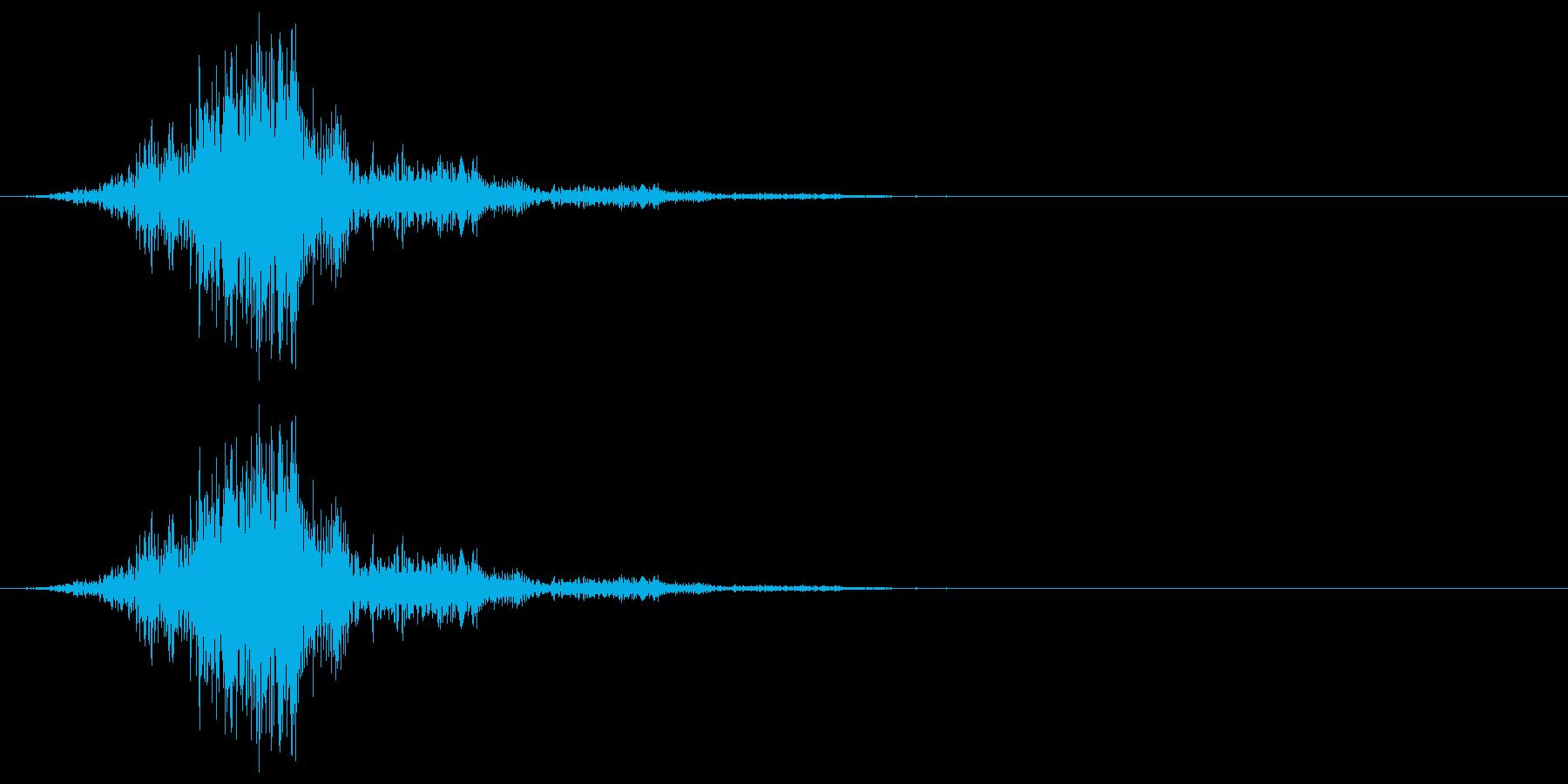 非動物(妖怪、クリーチャーなど)が口か…の再生済みの波形