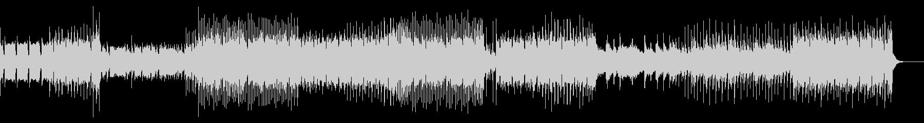 リズム・ゲーム/EDM風インストの未再生の波形