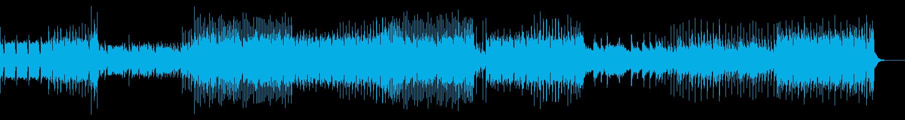 リズム・ゲーム/EDM風インストの再生済みの波形