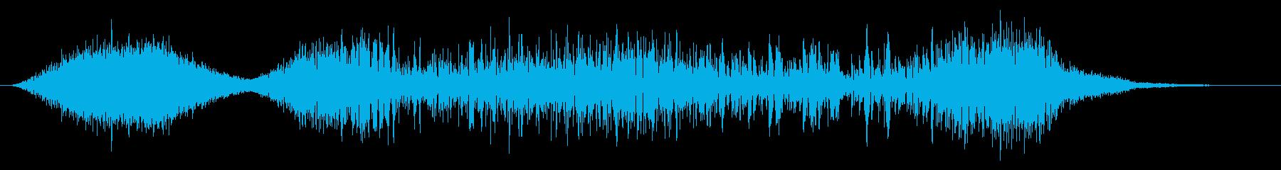 ゴー!火球・火炎系魔法#5発動音付きの再生済みの波形