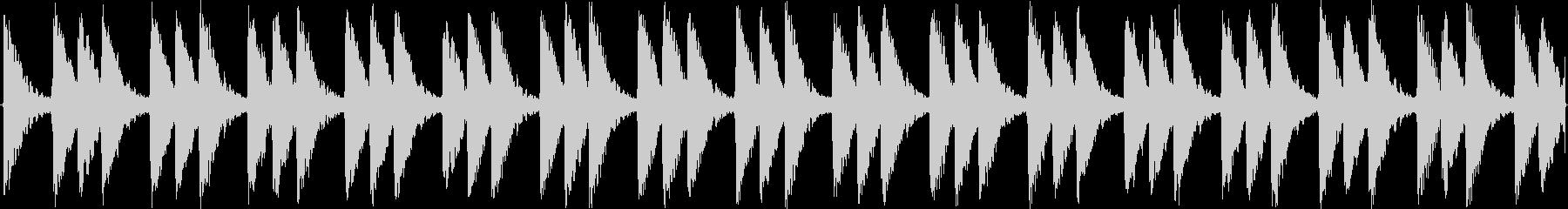 淡々と繰り返されるシンセサイザーのルー…の未再生の波形