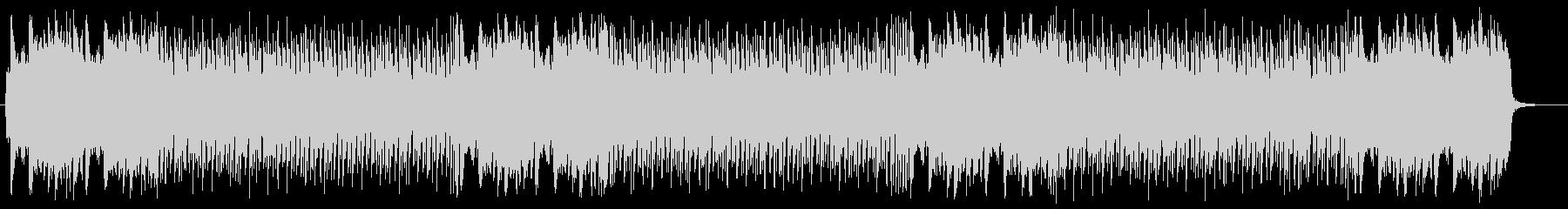 テンポと曲転換がダイナミックな曲の未再生の波形