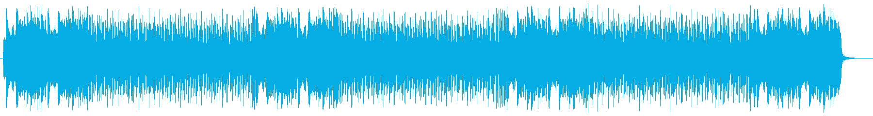 A song with dynamic tempo and song transition's reproduced waveform