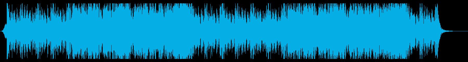 勇ましい曲調のオーケストラ 登場シーンの再生済みの波形