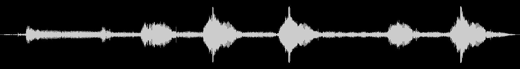 WRX-スタート、ベルトビープ音、...の未再生の波形