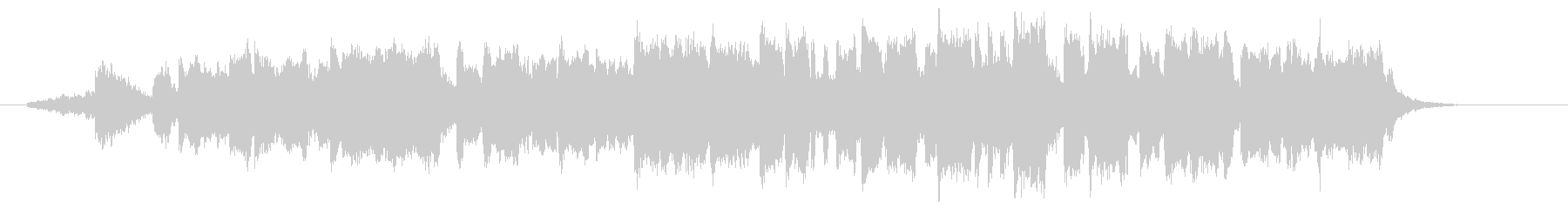 BGM of the beginning of a magnificent journey's unreproduced waveform