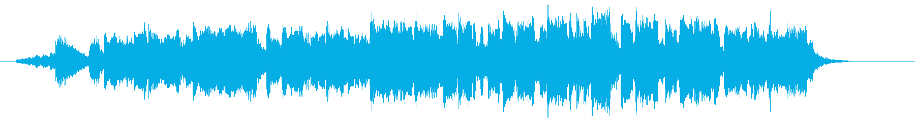 BGM of the beginning of a magnificent journey's reproduced waveform