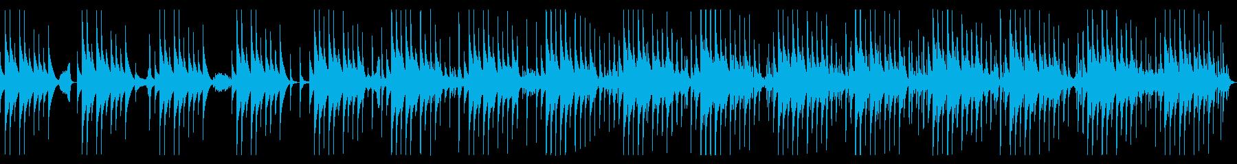 ピタゴラスイッチ風コミカルに焦るBGMの再生済みの波形