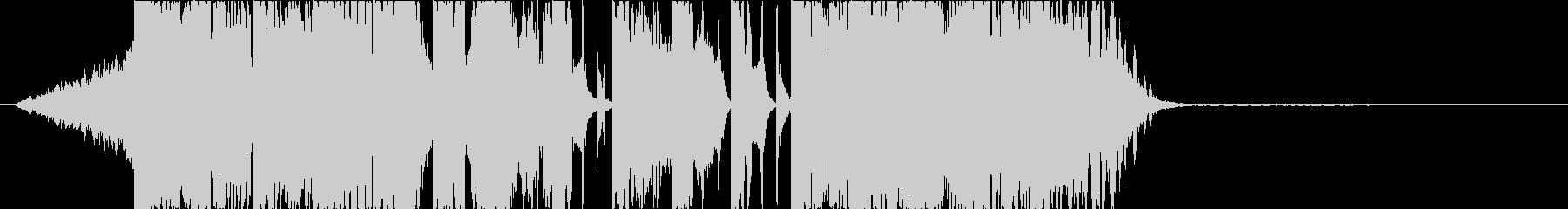DUBSTEP クール ジングル135の未再生の波形