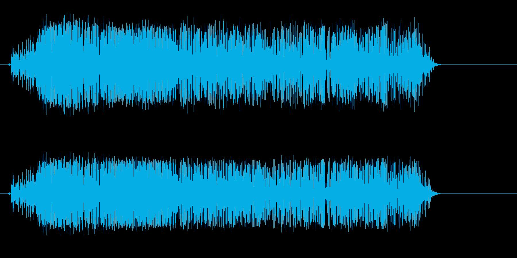 メェー(羊が鳴く音02)の再生済みの波形