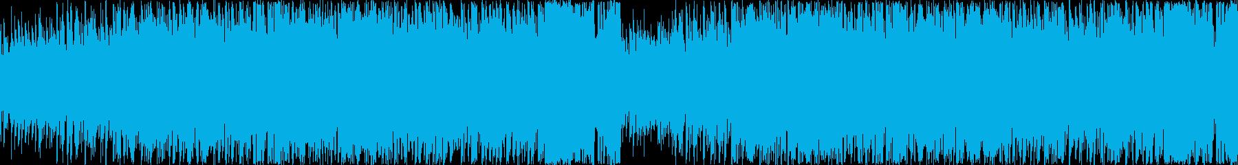 中華的な雰囲気のあるエレクトロ曲の再生済みの波形