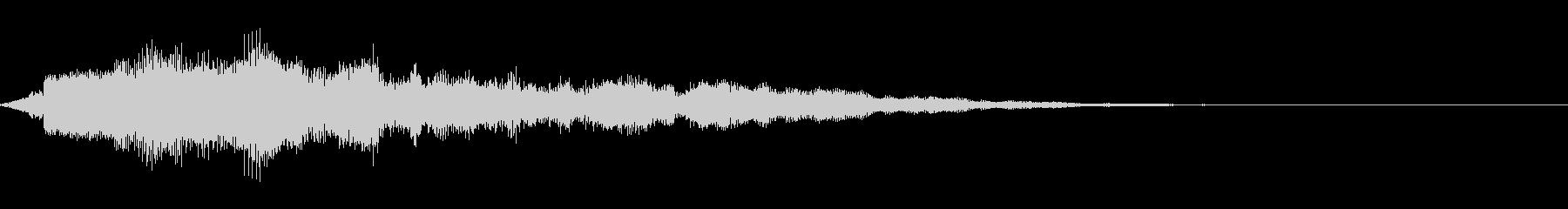 【ロゴ、ジングル】シンセ01の未再生の波形