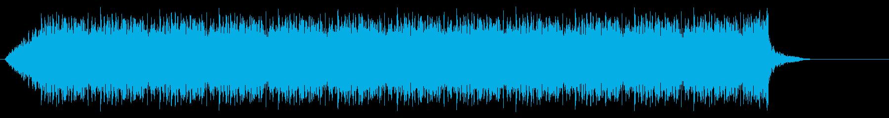船のサイレン5の再生済みの波形