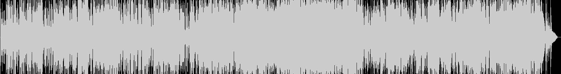 G線上のアリアのジャズピアノトリオの未再生の波形