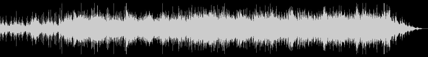 ホラー風味のダークなBGMの未再生の波形