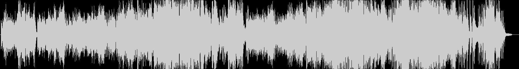 ピアノ弾き語りの未再生の波形