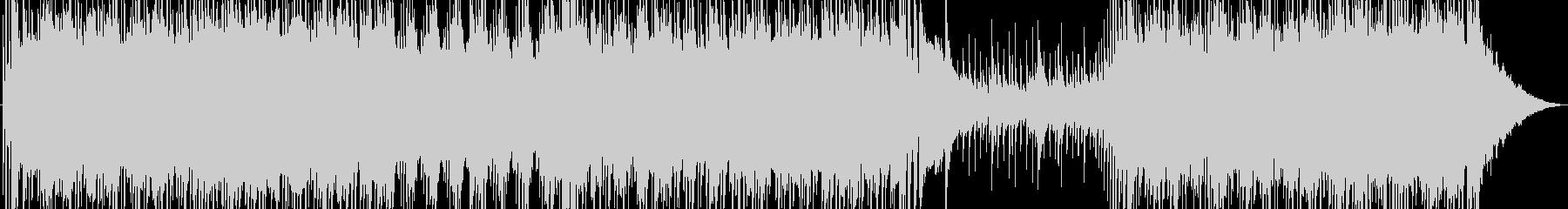オリエンタルなフレーズが印象的なロックの未再生の波形