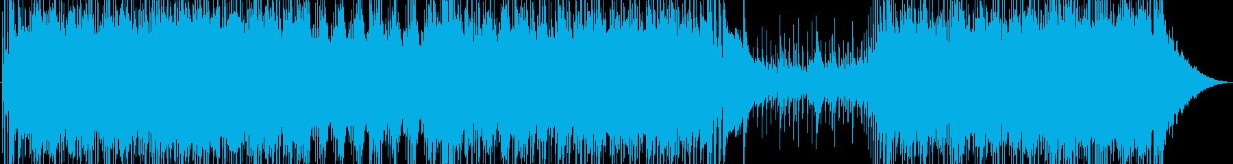 オリエンタルなフレーズが印象的なロックの再生済みの波形