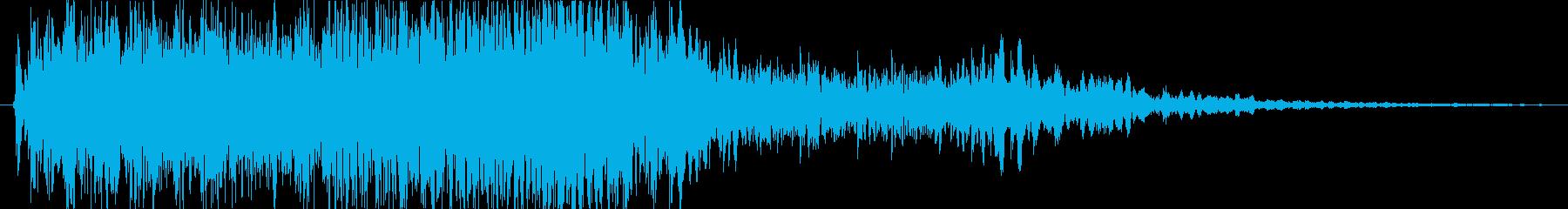 キューオーオーの再生済みの波形