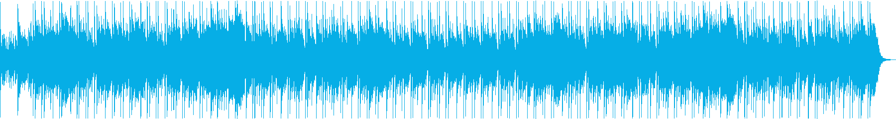 和楽器を使用したほのぼのインストの再生済みの波形