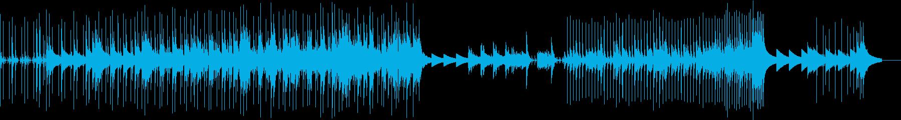 シャッフルしたリズムが軽快で明るくポップの再生済みの波形