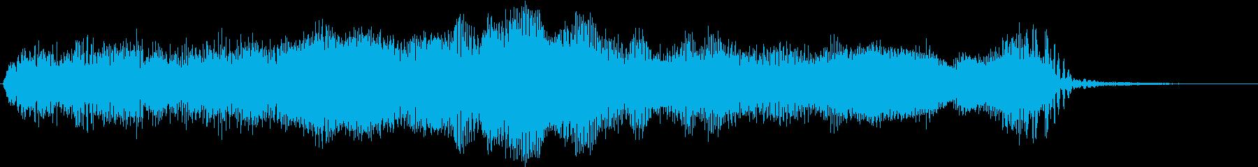SF メカ 動作 ブーンッ・・・の再生済みの波形