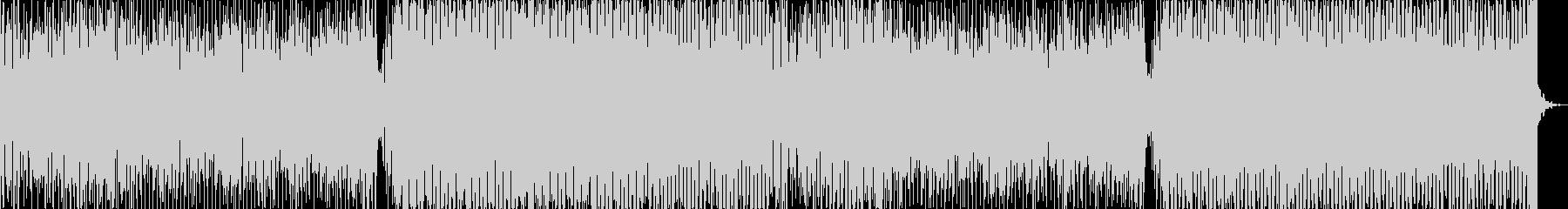 ロボ声シンセ デジタルな物、シーンEDMの未再生の波形