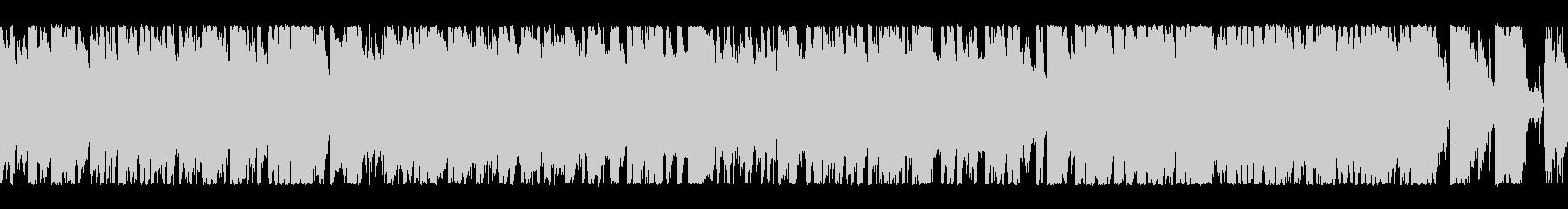 元気ハツラツブラス+ロック ループ2の未再生の波形