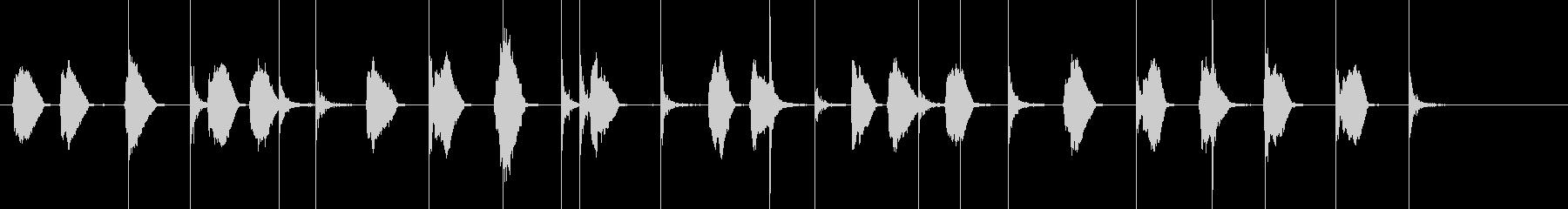花火の口whiと爆発の未再生の波形
