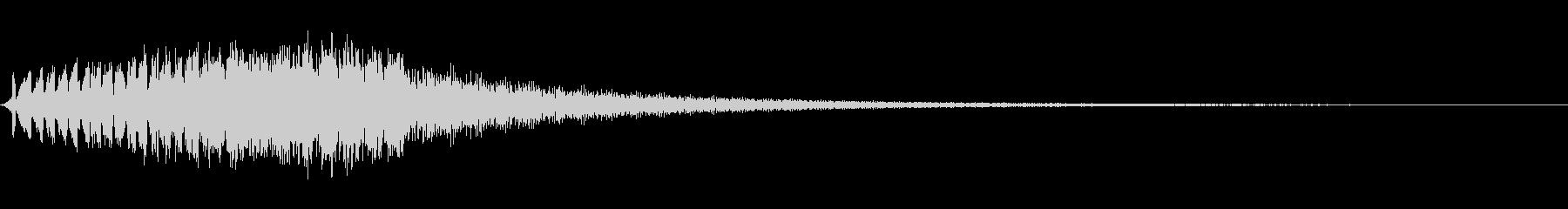 レーザーガン:シングルヒット、SC...の未再生の波形
