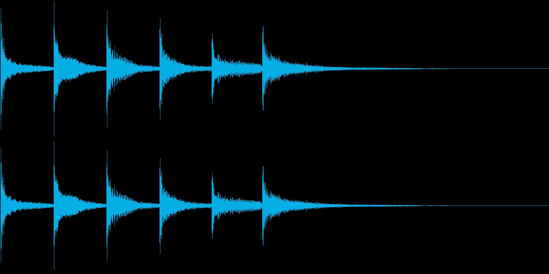ティンパニ:フォーリングボーイズス...の再生済みの波形
