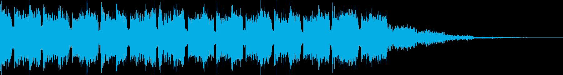 クラシック♪四季『春』のEDMジングル2の再生済みの波形