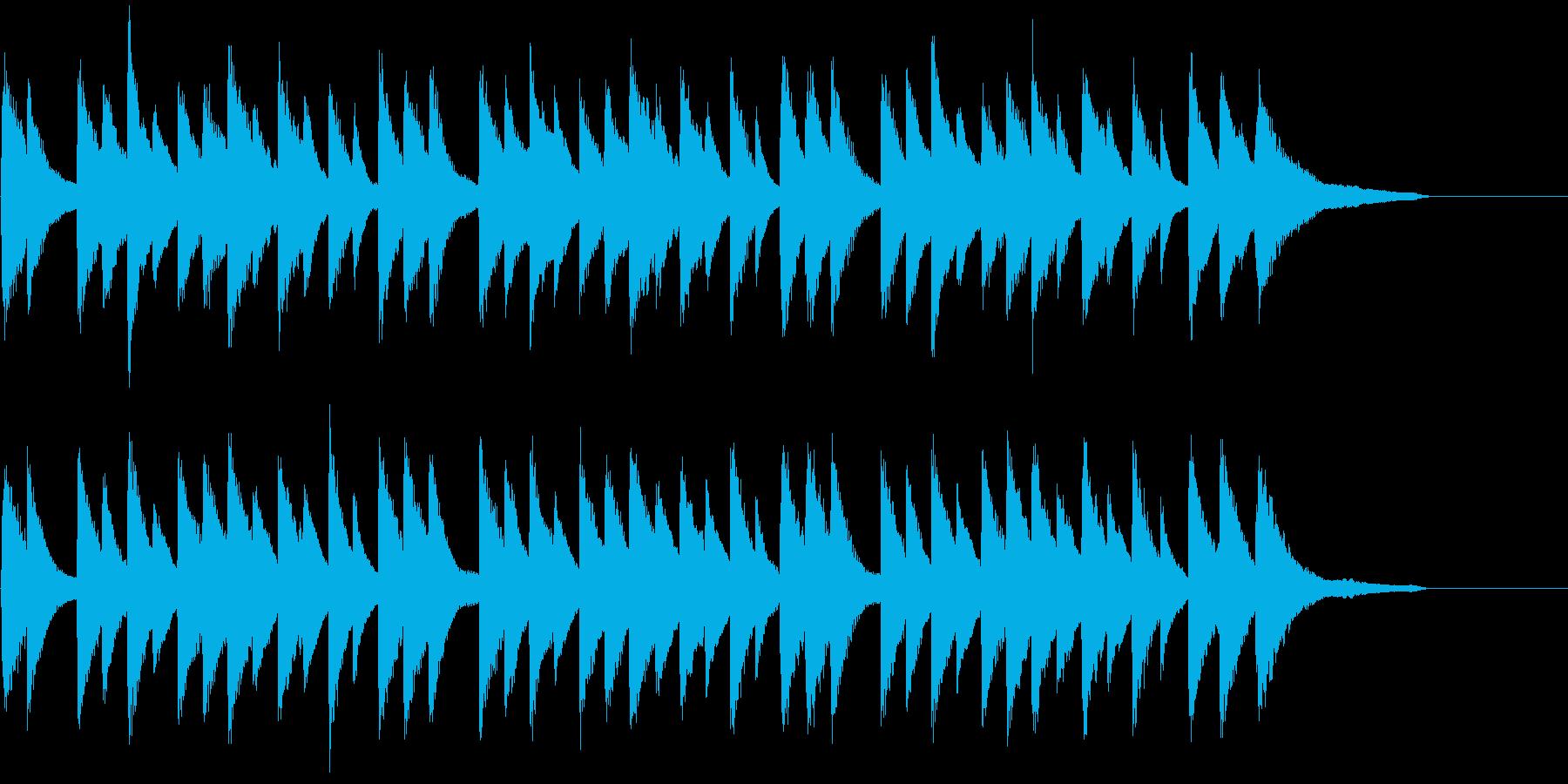 複雑な心の痛みを抱えた内省的なピアノソロの再生済みの波形