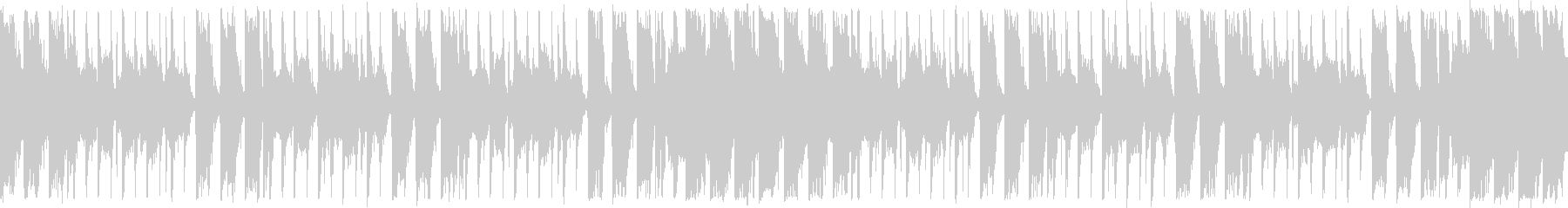 ダンスエクササイズBPM120:ショートの未再生の波形