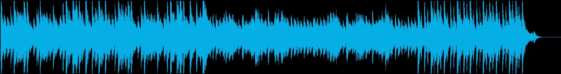 睡眠・ヒーリング・リラックス・夜・ピアノの再生済みの波形