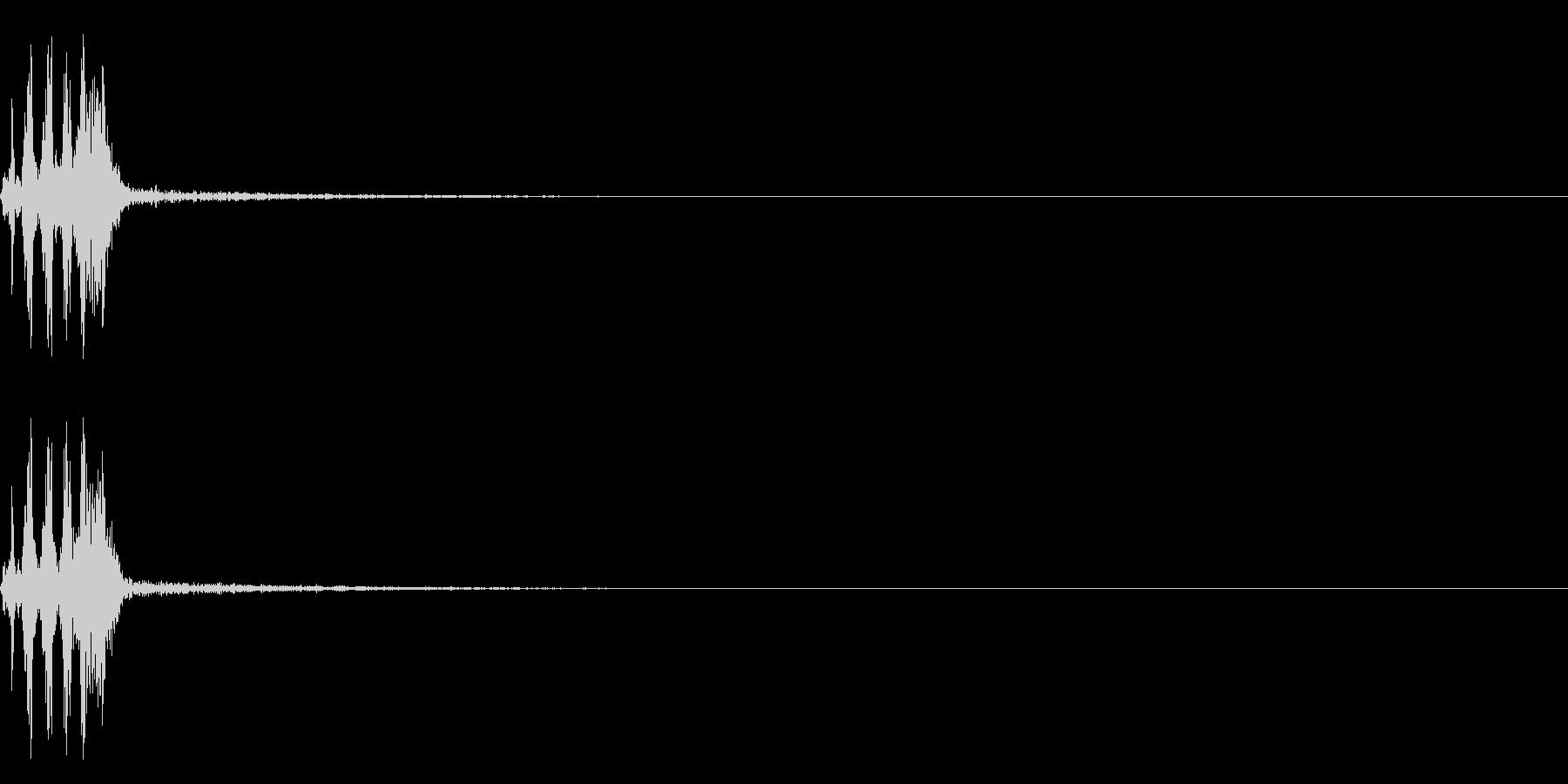 【生録音】フラミンゴの鳴き声 35の未再生の波形