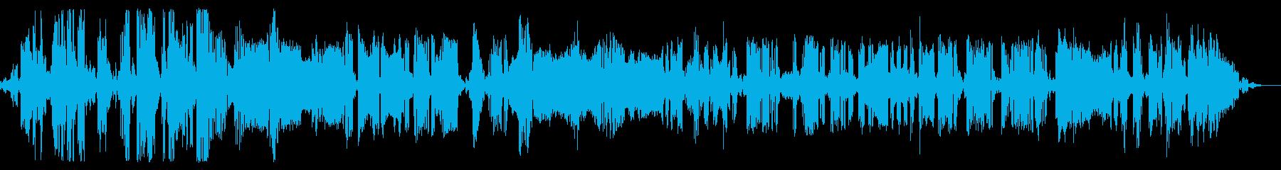 ロボットの声、機械のギブリッシュ、...の再生済みの波形