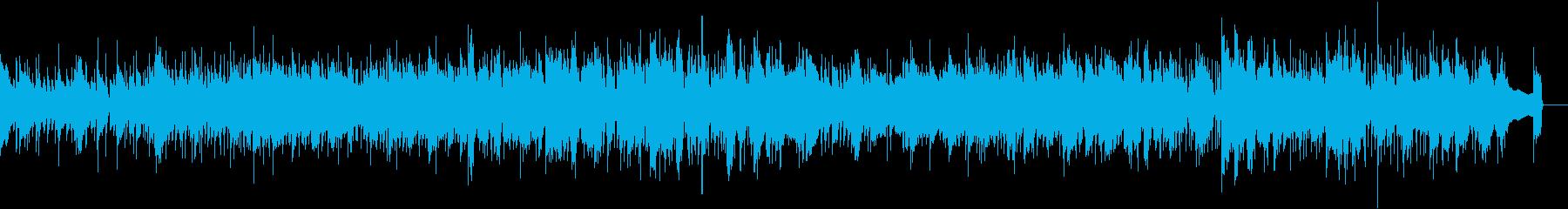 フレンチジャズの再生済みの波形