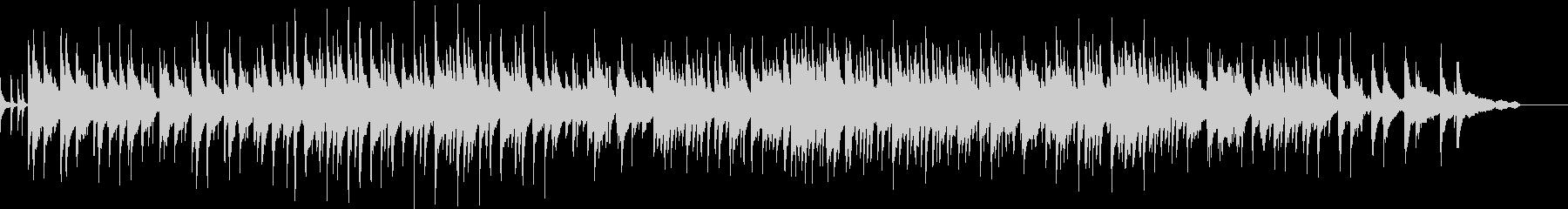 雨の日のピアノトリオの未再生の波形